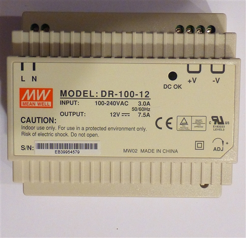 how to build a 90 volt dc power supply