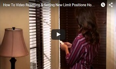 Resetting & Setting New Limit Positions