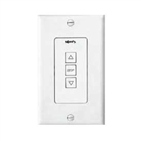 Somfy Sonesse ST30 DCT White Wall Switch 1800219 | Florida Automated Shade