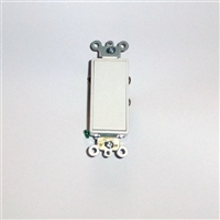 Somfy Maintained White Paddle Wall Switch 120v AC 1800374