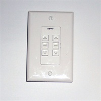 Somfy Dual Push Button Switch White 1800407