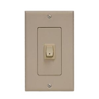 Somfy Single Pole,Single Throw Rocker Wall Switch 1800414