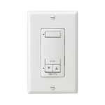 Somfy DecoFlex 1 Channel RTS Wireless  White Wall Switch 1810897
