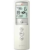 Telis 16 Channel RTS Silver Hand Held Remote 1811082 | Florida Automated Shade