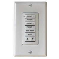 Somfy SDN DecoFlex Digital Keypad 8 Button Ivory 1811335