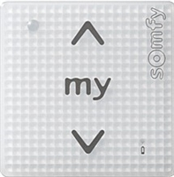Somfy Smoove 1 RTS Surface Mount Control Pure Switch 1811533