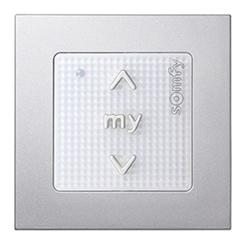 Somfy Smoove 1 Rts Single Channel Surface Mount Pure Wall