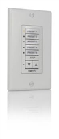 SDN DecoFlex Digital Keypad with Group Control 6-Button White
