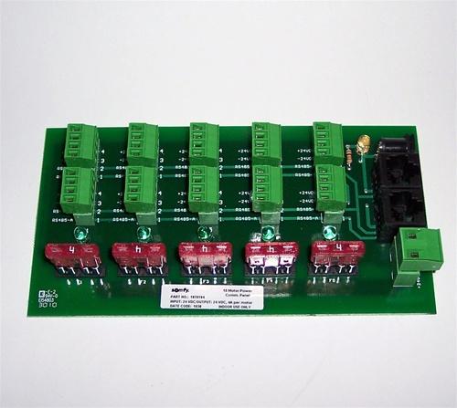12 24v Dc Power Distribution Panel 10 Motors 1870194