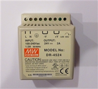 24 Volt 2A 48W AC/DC Single Power Supply 192681