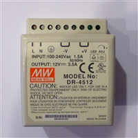Din Rail Mount 12 volt  3.5 Amp  Transformer 192699