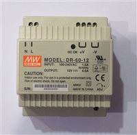 12 Volt 4.5A 54W AC/DC Power Supply Single