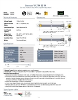 Somfy  500 Series LT50 Databook PDF P4-6 | Florida Automated Shade