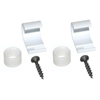 Somfy Wall Mount Clip for Batteries (pair) 9013263
