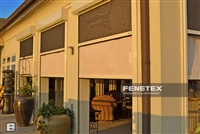 Fenetex Dual Motorized  Screens available up to 26 ft.  | Clear Weather  Screens  | Hurricane Screen | Insect Bug Screen | Florida Automated Shade