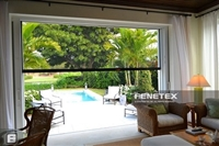 Fenetex motorized Insect  Bug Screens | Florida Automated Shade