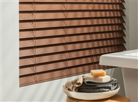 Horizontal Wood  Blinds Florida Automated Shade | FAS Blinds