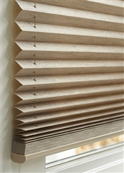 Pleated Shades | Somfy Motorized options available | Fas Blinds | Florida Automated Shade