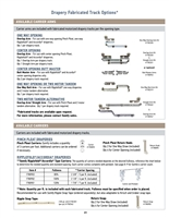 Somfy Glydea Drapery Fabricated Track Option PDF P23 | Florida Automated Shade