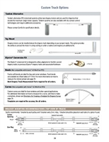 Somfy Glydea Drapery Custom Track Options PDF P24-26 | Florida Automated Shade