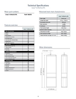 Somfy Glydea & Irsimo Databook Technical Specifications PDF P 6-11 | Florida Automated Shade