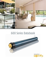 Somfy Somfy 600 Series Databook PDF | Florida Automated Shade