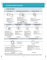 Somfy LT60 RTS Control Accessories Databook PDF P12-16 | Florida Automated Shade |