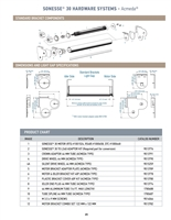 Somfy Low-Voltage Motor Range DataBook PDF P25-32 | Florida Automated Shade