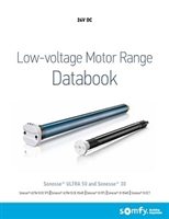 Somfy Low-Voltage Motor Range DataBook PDF| Florida Automated Shade